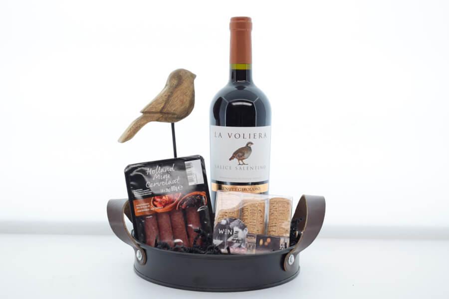 Relatiegeschenk rode wijn