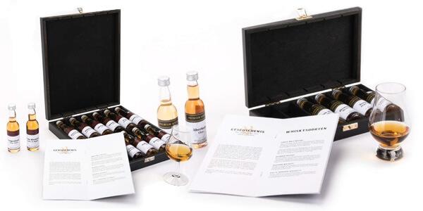relatiegeschenken met drank rum en whisky set
