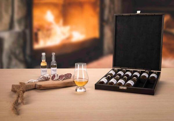 relatiegeschenken-met-drank sets van whisky, cognac, rum, gin