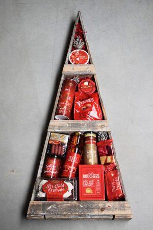 kerstpakket kerstboom rood