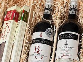 Kerstpakket met wijnen