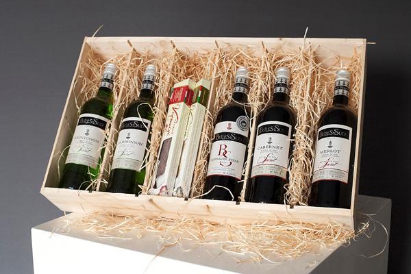 Kerstpakket met wijn