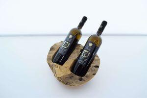 Houtblok wijn